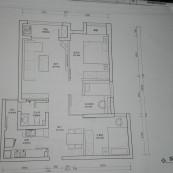 王家湾中央生活区装修平面图1