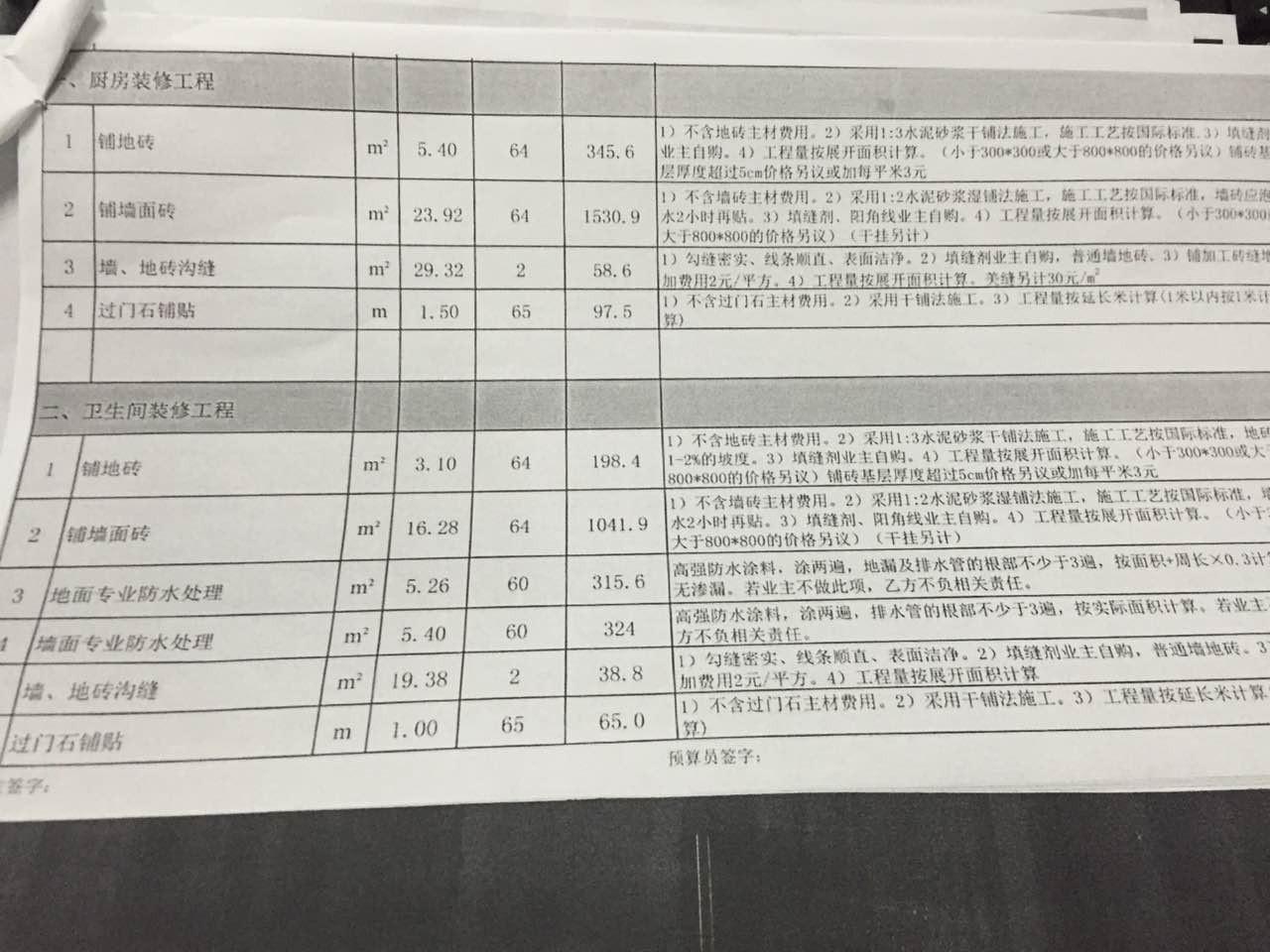 海赋江城报价审核结果3