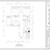 百步亭现代城四区装修平面图1
