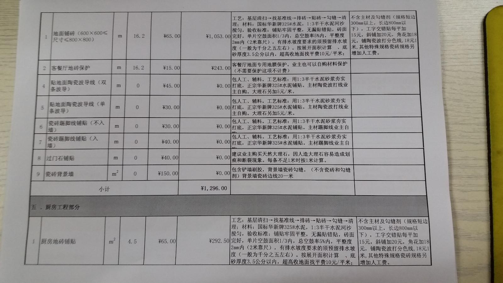 长源假日港湾报价审核结果5