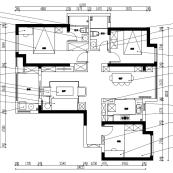 金地自在城装修平面图1