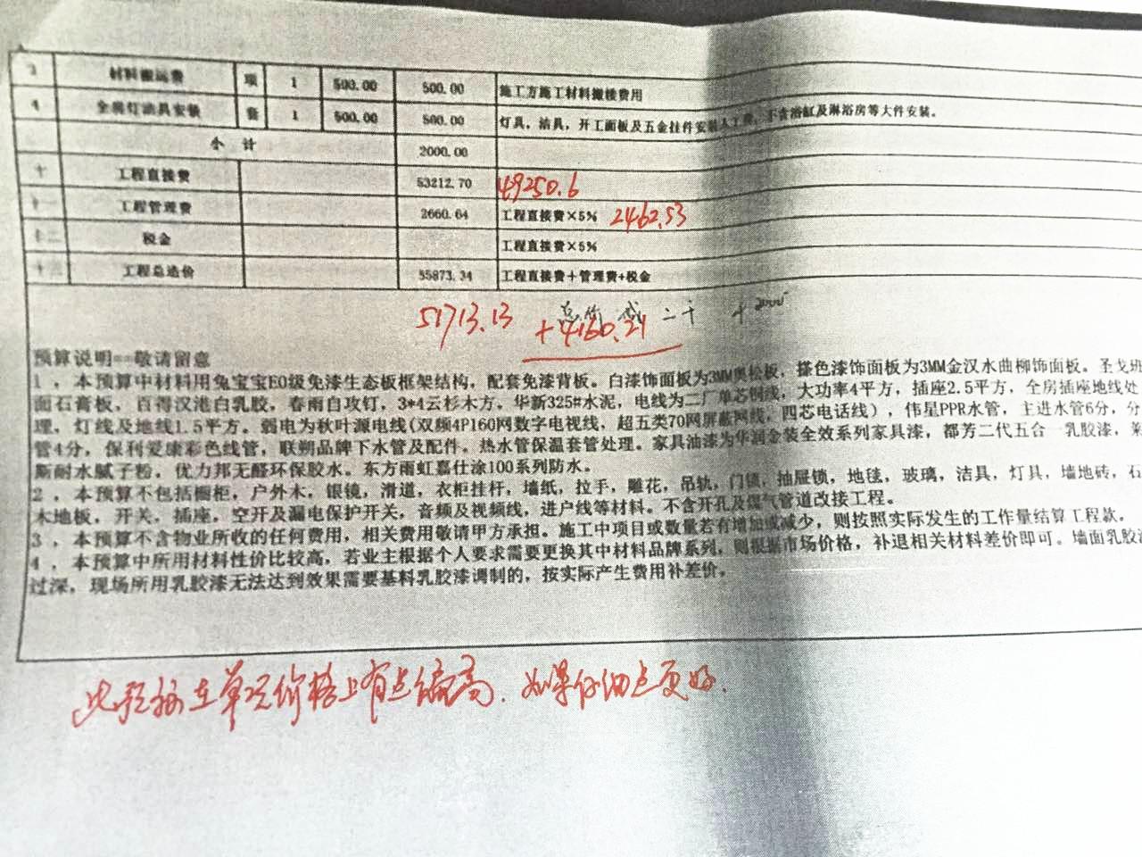 汉口城市广场四期尚城报价审核结果4