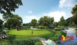 东西湖区 金银湖片 高尔夫城市花园(二期丽湖居) 5室2厅3卫  301㎡毛坯联排别墅