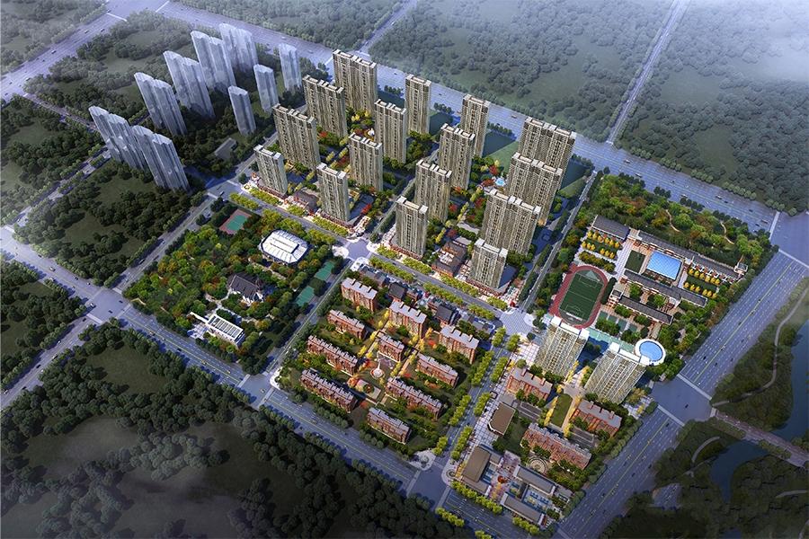 绿地国际理想城楼栋示意图