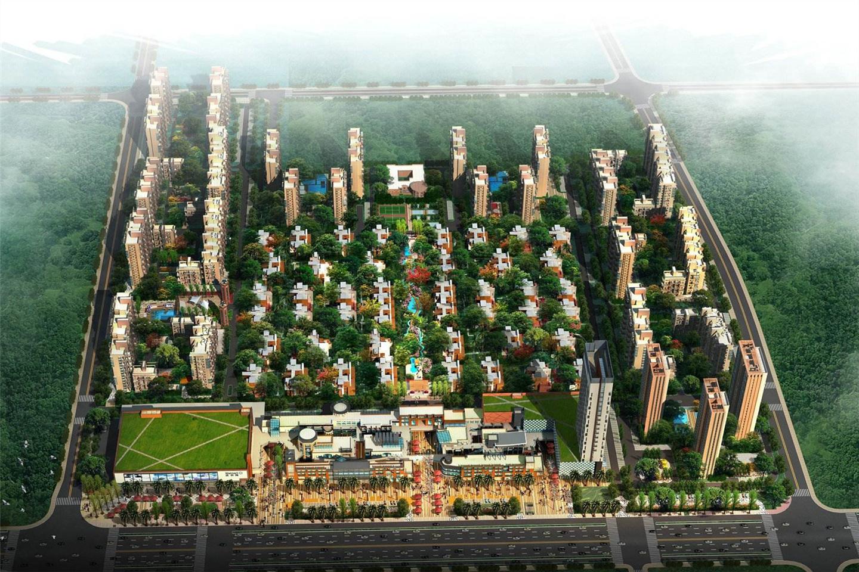 光谷坐标城九台楼栋示意图