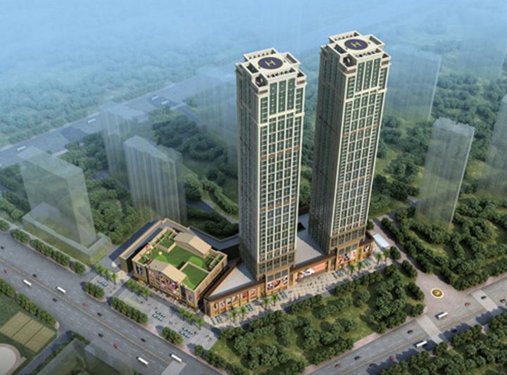 武汉恒大城·悦湖公馆楼栋示意图