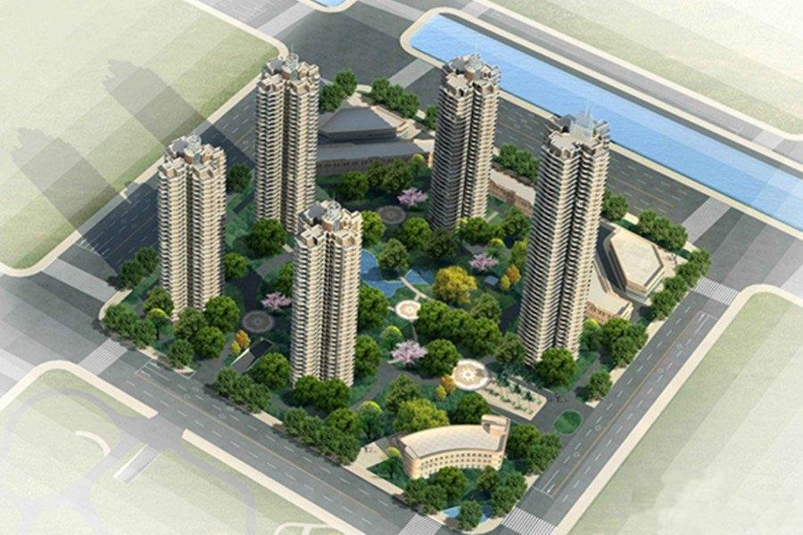 武汉国博新城楼栋示意图