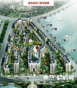 东西湖区 金珠港湾二期 2室1厅1卫88.0㎡