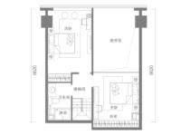 金茂国际公寓户型图