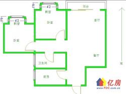 香榭琴台二期精装2房老证无税诚心出售