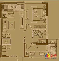 复地东湖国际 两证齐全 小2居室 低价出售