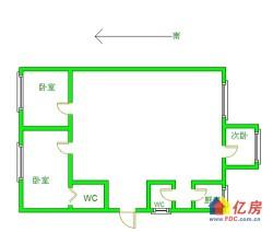 拦江路地铁口鹦鹉花园3房拎包入住老证无税看房提前联系
