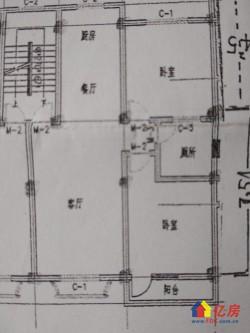 新洲区 阳逻片 阳逻常乐新城 2室2厅1卫 112.71㎡
