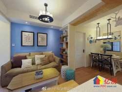 青山和平大道,建设四路临江loft公寓,江景效果好,带生活阳台