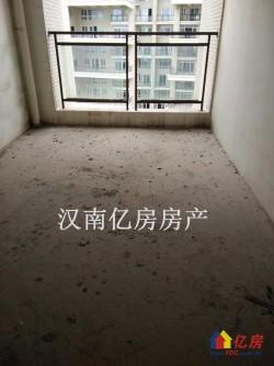 汉南碧桂园 毛坯好楼层 3室2厅2卫 湖景房