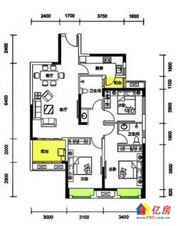 融创公园壹号 超值三房出售,今年交房新小区,单价低毛坯超划算