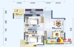 洪山区 南湖片 保利心语二期 2室1厅1卫  70.91㎡ 139万诚心出售