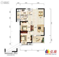 福星华府精装修两房出售,楼层好,拎包入住,全朝南户型,新小区
