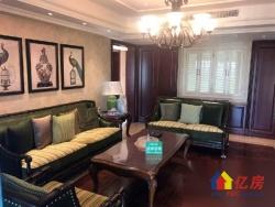 次新小区翰林紫园 豪装通透三室两厅 全房地暖带中控空调江景房