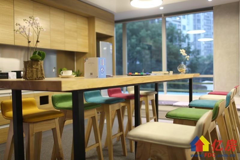 珞狮南中小型精装办公室 带家电拎包入驻,武汉洪山区南湖珞狮南路517号明泽大厦3楼二手房 - 亿房网