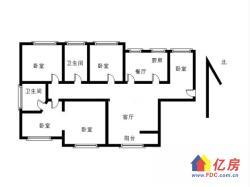 汉街旁武昌实验小xue三房赠送两房房东自住精装修诚心卖随时