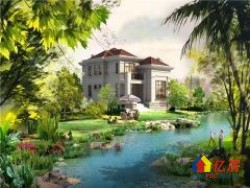温莎半岛独栋别墅  一手新房  免佣代理   一线临湖  户型大气  小区环境优美