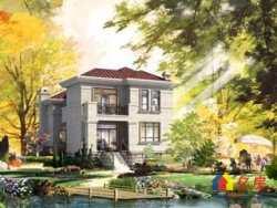 纯独栋别墅社区  环境绝佳优美  户型大气  一线临湖  1000平私家大花园