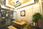 《特价房源,快速注册公司》小型办公室,越秀财富中心直租,武汉硚口区汉西越秀财富中心8楼二手房 - 亿房网