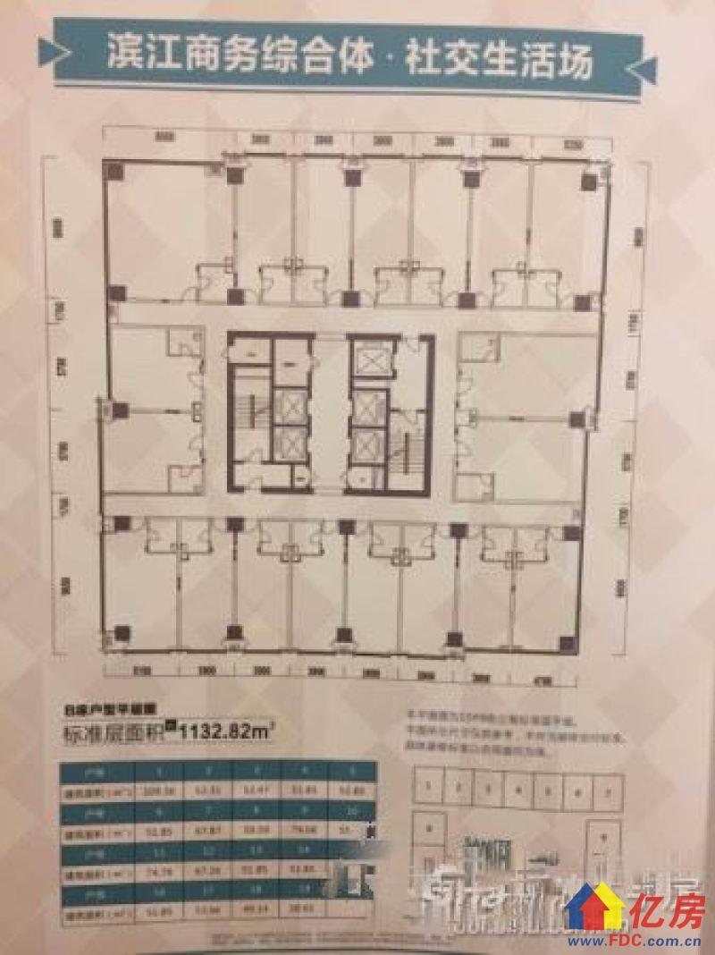 2米层高loft复式楼稀缺江景小户型得房率图片