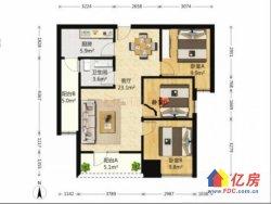 洪山区 亚贸广场附近 理工大学旁 天下龙岭广场 3室2厅1卫  89㎡ 好房出售