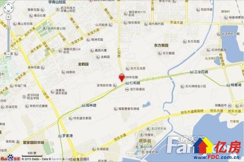 欢乐谷旁)  所属区域 :洪山区  开发商 :武汉市地安君泰房地产开发