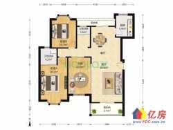 六号线地铁旁汉口花园二期 3室2厅2卫  127㎡电梯黄金楼层 小区中央 精装修 领包即住 随时看房