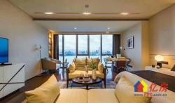武昌核心 绿地606旁 铂瑞西兰蒂亚公馆 总裁豪华一线江景公寓楼 三地铁口 精装拎包入住