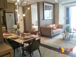 绿地606+地标建筑+交通便利+酒店包租+一线江景+总裁公寓