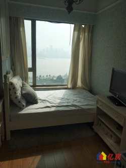 时代豪苑8号楼  精装三房 客厅带阳台 老证 江景 诚售