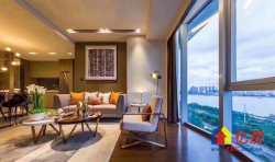 绿地国际金融城 长江主轴核心位置 世界第三高楼旁 身份象征 豪装江景公寓
