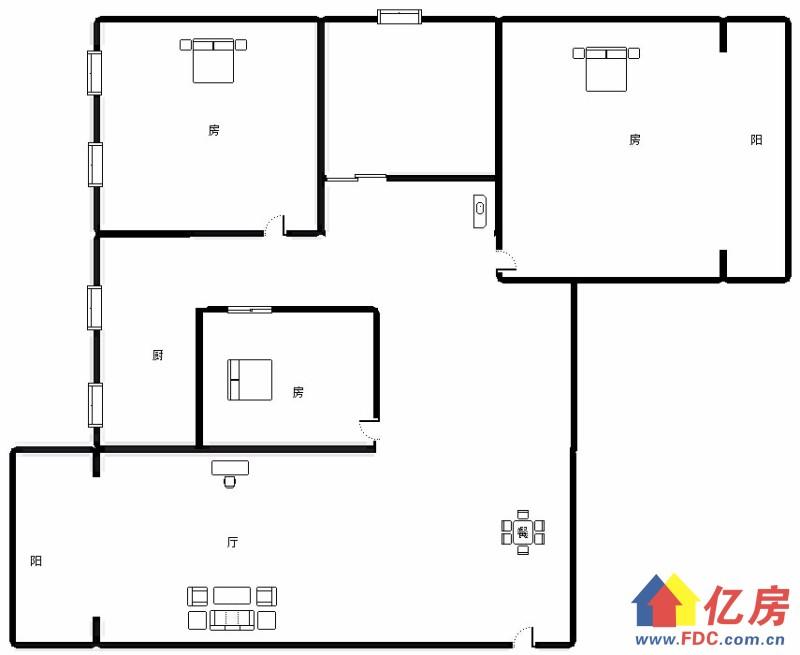 硚口区 宝丰 同馨花园二期 2室2厅1卫  92.09㎡,武汉硚口区宝丰解放大道586号(蓝天宾馆对面该项目1楼)二手房2室 - 亿房网