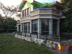 F天下一期独栋别墅 占地901平花园平坦 证两年
