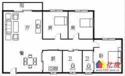 同济医院对面 同馨花园二期 精装三房 带地暖 满五唯一 房东诚售 看房方便