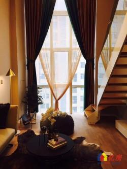 现房出售!躺在床上看江景、还是5.2米Loft!全落地窗、地铁5号线!不限购