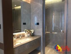 全景落地窗、江景尽收眼底、7种户型+精装、配酒廊+私人游泳池