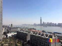 江汉路世纪江尚 南北通透 户型正规 一线江景 新证无贷 诚售