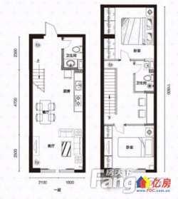 江汉区 新华 新长江京华国际 3室2厅1卫 54㎡