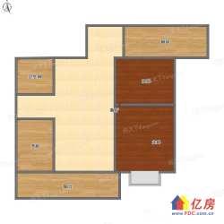 汉阳区 墨水湖 招商公园1872 3室2厅2卫  130㎡
