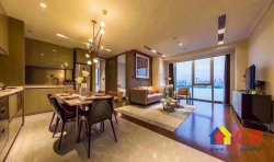 和平大道  绿地国际金融城 2室2厅1卫  113㎡ 豪装送家私