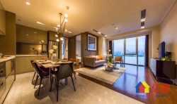 绿地国际金融城606二期铂锐公馆,一线瞰江,精装公寓,未来陆家
