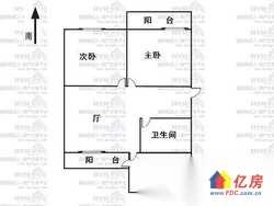 北湖工行宿舍 精装大2房 家具家电全送 随时看房 有钥匙
