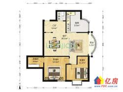 江汉区  香江家园 2室2厅2卫 106㎡
