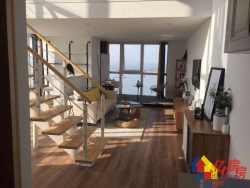 青山天兴洲大桥旁中交锦立方一线临江复式公寓5.2米层高现房!