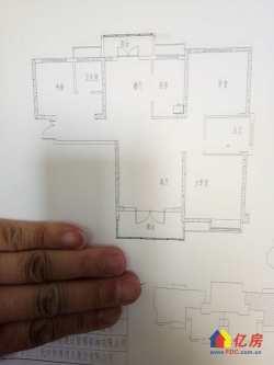 东西湖区 金银湖 裕亚银湖城 3室2厅2卫  130㎡